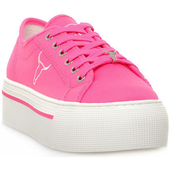 Scarpe Donna Sneakers basse Windsor Smith RUBY CANVAS NEON PINK Rosa
