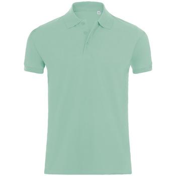 Abbigliamento Uomo Polo maniche corte Sols PHOENIX MEN SPORT Verde
