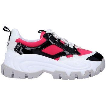 Scarpe Donna Sneakers Liu Jo BA0023PX059 Sneaker  Donna Nero/fucsia Nero/fucsia