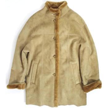 Abbigliamento Donna Cappotti Leretta ATRMPN-16985 Beige