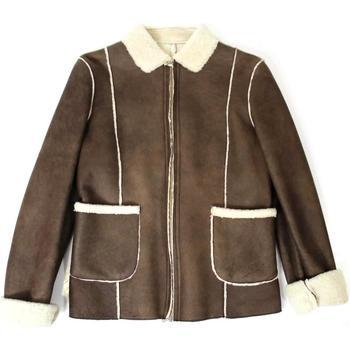 Abbigliamento Donna Cappotti Effegi ATRMPN-17000 Marrone
