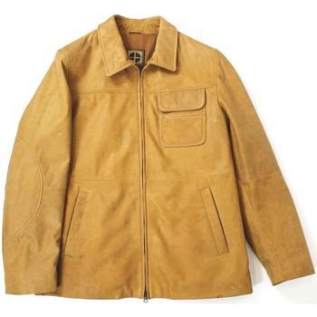 Abbigliamento Uomo Giubbotti Essebi ATRMPN-17037 Beige
