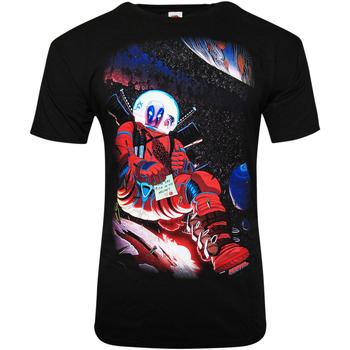 Abbigliamento T-shirt maniche corte Deadpool  Nero