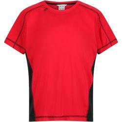 Abbigliamento Unisex bambino T-shirt maniche corte Regatta  Rosso/Nero