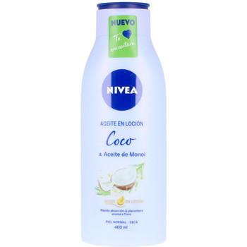 Bellezza Idratanti & nutrienti Nivea Aceite En Locion Coco & Aceite De Monoi  400 ml