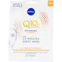 Bellezza Donna Maschere & scrub Nivea Q10+ Vitamina C Anti-arrugas+energizante Mascarilla Facial 1 u