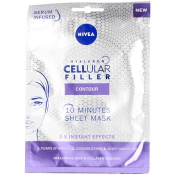 Bellezza Donna Maschere & scrub Nivea Hyaluron Cellular Filler Contour Mascarilla Facial 1 u