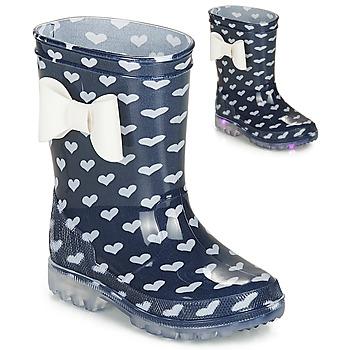 Scarpe Bambina Stivali da pioggia Be Only AMOUR FLASH Marine