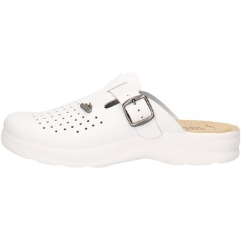 Scarpe Donna Settore medico / alimentare Fly Flot 82009 BE Bianco