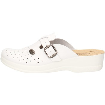 Scarpe Donna Settore medico / alimentare Fly Flot 63465 BE Bianco