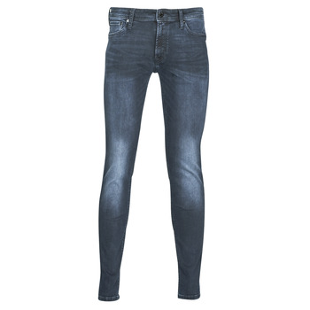 Abbigliamento Uomo Jeans slim Jack & Jones JJILIAM Blu / Scuro