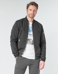Abbigliamento Uomo Giubbotti Jack & Jones JJERUSH Nero