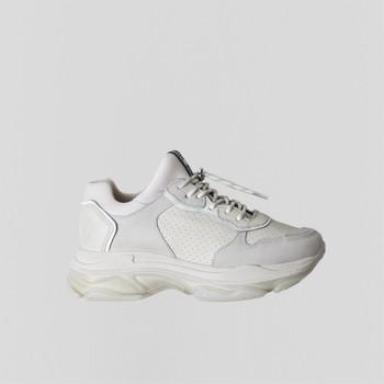 Scarpe Donna Sneakers basse Bronx Chaussures femme  Baisley Suede blanc cassé