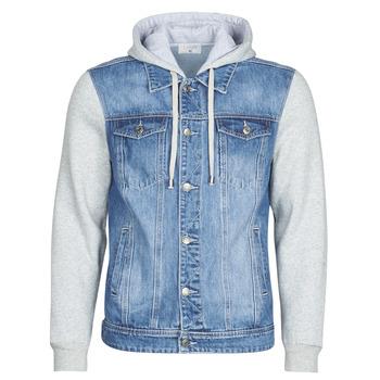 Abbigliamento Uomo Giacche in jeans Casual Attitude LAURYNE Blu / Medium