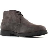 Scarpe Uomo Stivaletti Antica Cuoieria scarpe uomo polacchini 20973-A-VA3 AMALF ANTRACITE Pelle