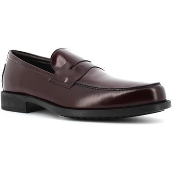 Scarpe Uomo Mocassini Antica Cuoieria scarpe uomo mocassini 17324-S-G90 MONACO BORDEAUX Pelle