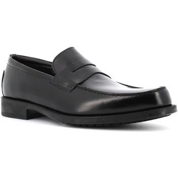 Scarpe Uomo Mocassini Antica Cuoieria scarpe uomo mocassini 17324-S-G90 MONACO NERO Pelle