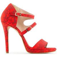 Scarpe Donna Sandali Made In Italia - iride Rosso