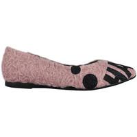 Scarpe Donna Sneakers Thewhitebrand Bailarina tag pink Rosa