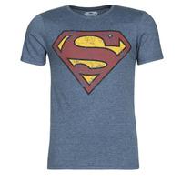 Abbigliamento Uomo T-shirt maniche corte Yurban SUPERMAN LOGO VINTAGE Marine