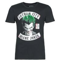 Abbigliamento Uomo T-shirt maniche corte Yurban INSANE JOKER Nero