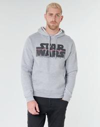Abbigliamento Uomo Felpe Casual Attitude Star Wars Bar Code Grigio
