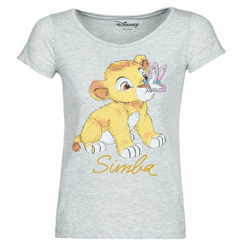 Abbigliamento Donna T-shirt maniche corte Moony Mood THE LION KING Grigio