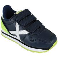 Scarpe Sneakers basse Munich mini massana vco 8207355 Blu