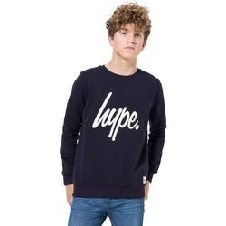 Abbigliamento Unisex bambino Felpe Hype  Blu navy