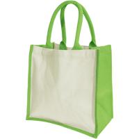 Borse Donna Tote bag / Borsa shopping Westford Mill W421 Verde Mela