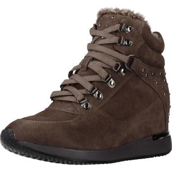 Scarpe Donna Sneakers alte Carmela 66878C Marrone