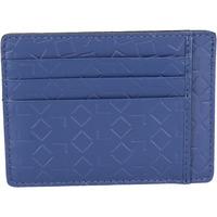 Borse Uomo Portafogli Alviero Martini portafoglio porta carta di credito ALV blu pelle BN201-S Blu