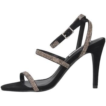 Scarpe Donna Sandali Steve Madden SMSEQUAL-BLKCRY Sandalo Donna Nero Nero