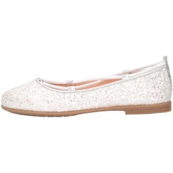 Scarpe Bambina Ballerine Unisa SEIMY 20 GL N Bianco