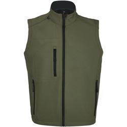 Abbigliamento Uomo giacca a vento Sols RALLYE SPORT MEN Verde