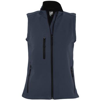 Abbigliamento Donna giacca a vento Sols RALLYE SPORT WOMEN Azul