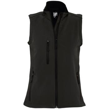 Abbigliamento Donna giacca a vento Sols RALLYE SPORT WOMEN Negro