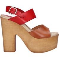 Scarpe Donna Sandali Chika 10 RUSIA 04 Rojo