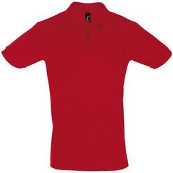Abbigliamento Uomo Polo maniche corte Sols PERFECT COLORS MEN Rojo