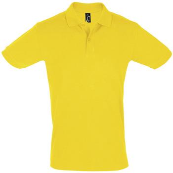 Abbigliamento Uomo Polo maniche corte Sols PERFECT COLORS MEN Amarillo