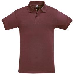 Abbigliamento Uomo Polo maniche corte Sols PERFECT COLORS MEN Violeta