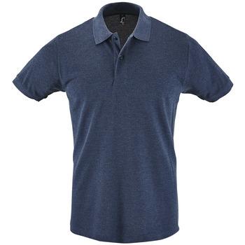 Abbigliamento Uomo Polo maniche corte Sols PERFECT COLORS MEN Azul