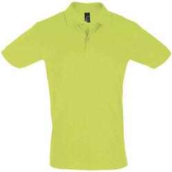 Abbigliamento Uomo Polo maniche corte Sols PERFECT COLORS MEN Verde