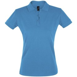 Abbigliamento Donna Polo maniche corte Sols PERFECT COLORS WOMEN Azul