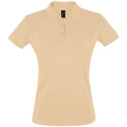 Abbigliamento Donna Polo maniche corte Sols PERFECT COLORS WOMEN Marr?n