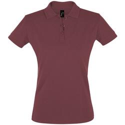 Abbigliamento Donna Polo maniche corte Sols PERFECT COLORS WOMEN Violeta