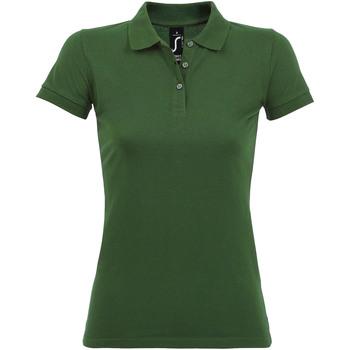 Abbigliamento Donna Polo maniche corte Sols PERFECT COLORS WOMEN Verde