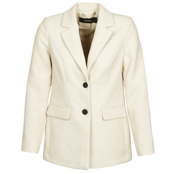 Abbigliamento Donna Cappotti Vero Moda VMCALA Bianco
