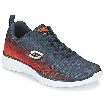 Scarpe Uomo Multisport Skechers EQUALIZER MARINE / Arancio