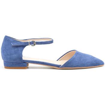 Scarpe Donna Ballerine Made In Italia - baciami Blu